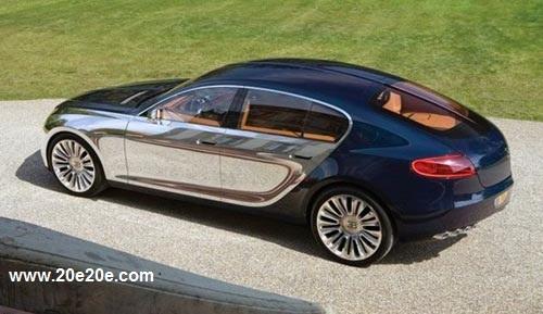 Bugatti 16 C Galibier iwrite بوگاتی 1.4 میلیون دلاری جدید